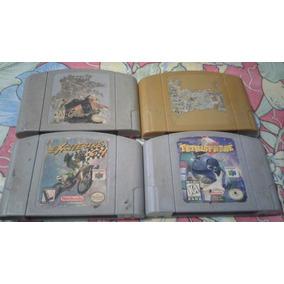 8 Cartuchos De Nintendo 64 E 2 Controles