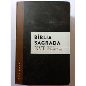 Biblia Sagrada - Nova Versão Transformadora Letra Grande