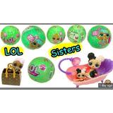 5 Bola Pelota Lol Lil Sisters Serie 2 Lo Mas Nuevo Envio Hoy