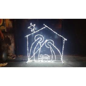 Figura De Nacimiento De Navidad,decoratiivo Con Luz,alambron