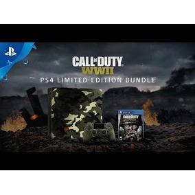 Ps4 Slim 1 Tb Call Of Duty W.w.2 Camuflada -leer Descripcion