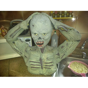 Halloween Torso Zombie Movimiento Y Sonido.