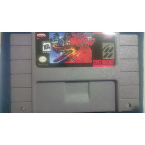 Fita De Super Nintendo Snes Rock Roll Racing