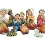 Pesebre Tradiciones De Navidad De Colección Familia Santa K