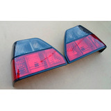 Vw Golf A2 1986-1992 Tail Lights Calaveras Smoked_red R + L