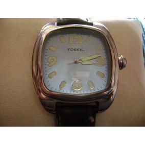Bonito Reloj Fossil Jr-8035 Todo De Acero Inoxidable.