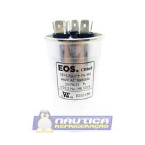 Capacitor Triplo 35+1.5uf 440vac Eos Cbb65 Ar Condicionado