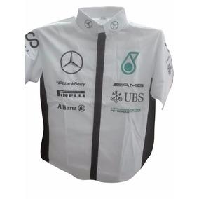 Camisa Escuderia Serie Nascar, Formula 1, Carreras, Mercedes