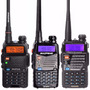 Handy Baofeng Uv-5r Vhf/uhf - 5 W 128 Canales Walkie Talkie