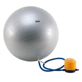 Pelota Yoga Pilates Esferodinamica 55 Cm + Inflador Oferta!