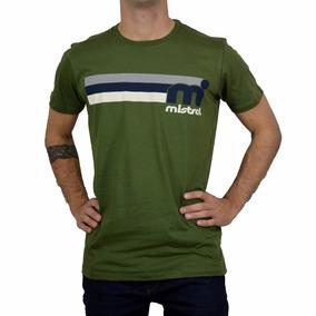 Remera Estampada Mod 51215 Logo Dis 50 Hombre Mistral