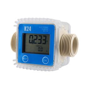 Medidor De Vasão Fluxo Digital K24 Sensor Óleo Gasolina Água