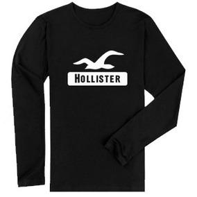 Camisa Da Hollister Manga Longa Feminina - Camisetas para Masculino ... db31bac58b95c
