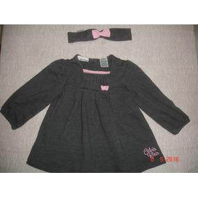 Vestido Bebe Niña Calvin Klein Original 18 Meses + Cintillo