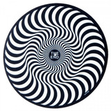 Deslizador Para Tornamesa Spitfire Swirl Slipmat Blk/wht