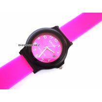 Reloj Malla Silicona Damas Ideal Regalo