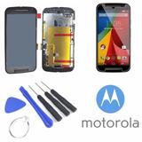 Tela Display Moto G2 Xt1078 + Ferramentas + Película