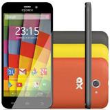 Qbex Qx A18 Dual Android Preto 8mp 3g 8gb Nf Original I Novo