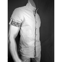 Camisa De Vestir Para Caballero Slim Fit