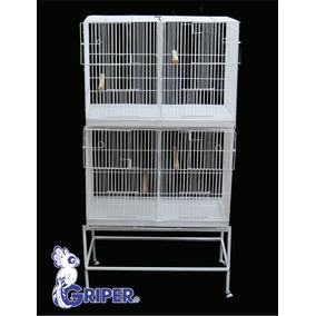 Módulo De Jaulas Para Cría De Ninfas Y Agapornis Modelo Prom