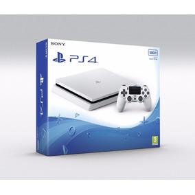 Sony Playstation 4 Ps4 Slim 500gb Branco Original