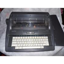 Máquina Escrever Antiga Brother Elétrica Mod Ax-525 Leia!