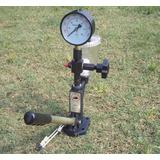 Manómetro Doble Escala Tester Inyector 0-600bar/ 0-8000psi