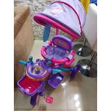 Triciclo Infantil C/ Cobertura 2 Em1 Proteção E Pedal Oferta