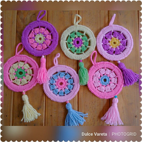 Atrapasueños Mandalas Tejidos Crochet
