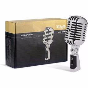 Micrófono Stagg Sdmp40cr Dinamico Vintage