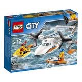 Lego City Guardacosta Avion De Rescate Marítimo 60164 Bloque