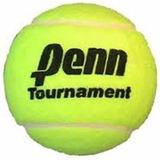 Pelotas De Tenis Penn Tournament Sello Negro Pelotitas X Un.
