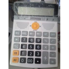 Calculadora Mp3 Rádio Fm Caixa De Som Pen Drive