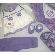 Kit Maternidade Bebe Completo / Saída De Maternidade