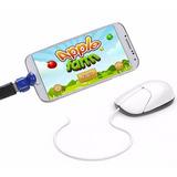 Adaptador Otg Conecta Mouse Teclado Memoria A Celular/tablet