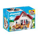 Playmobil City Life Set Escuela Con Accesorios Original