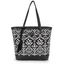 Bolsa Feminina Shopping Bag Sintetico Lona Etnica Pagani