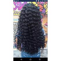 Cabelo Orgânico Sintético 70 Centímetros Fio A Fio Mega Hair