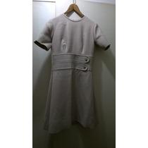 Hermoso Vestido Largo De Dama Vintage Casi Sin Uso!!