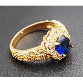 Anel Formatura Feminino Azul Joia Rommanel 511924