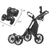 Kaddygolf Carro Manual Golf Caddytek Cruiser One 4 Rdas Full