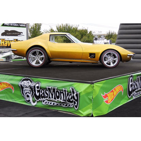 Gas Monkey Corvette 68 Hotwhells 2017