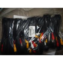 25 Cables Rca Nuevos Steren