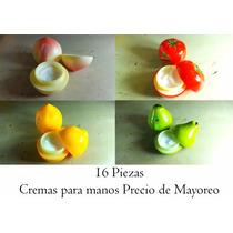 Cremas Para Manos Envase En Forma De Frutas 16 Piezas