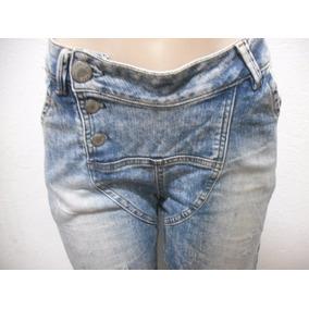 Calça Jeans 36 Frente Tipo Saruel Usado Bom Estado