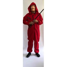 Disfraz Overol Rojo Casa De Papel No Incluye Mascara
