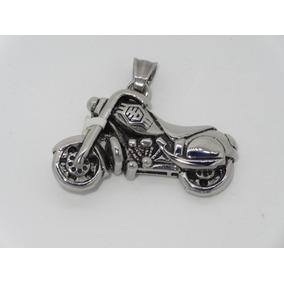 Dije Motocicleta Acero Inox, Color Plata Zitroled Tienda