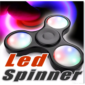 Fidget Spinner Led Disponibilidad. Inmediata