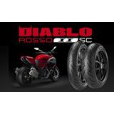 Llanta Delantera Pirelli Diablo Rosso 2 110/70-r17