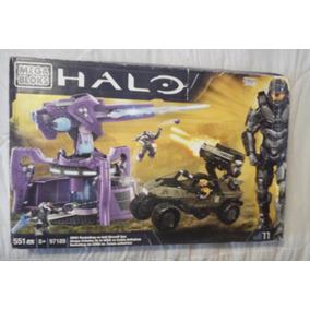 Megabloks Halo 97189 Unsc Rockethog Vs Anti Aircraft Gun